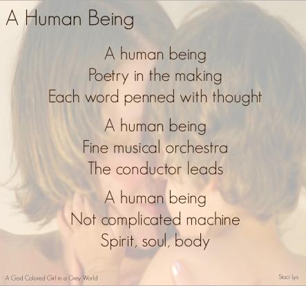 A Human Being - Haiku
