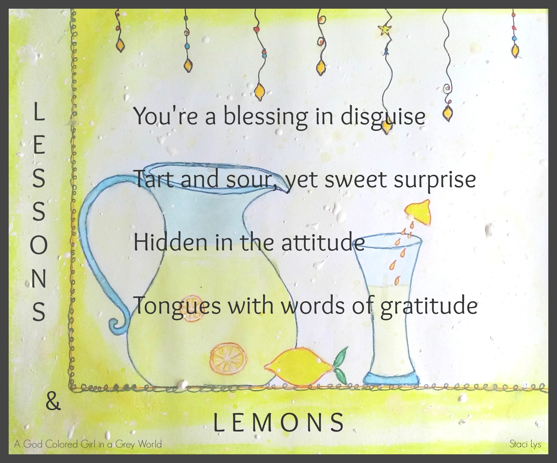 Lessons and lemons