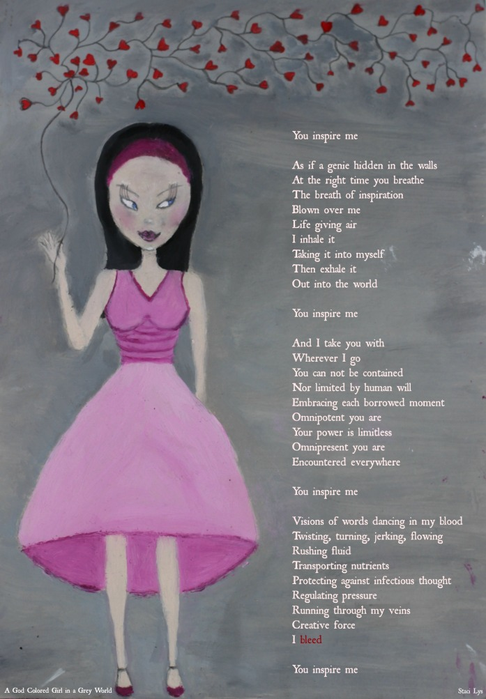 You Inspire Me - Poem on Oil